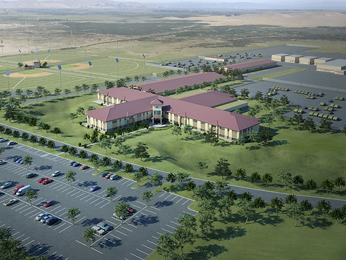 LEED Silver Armed Forces Reserve Center, Fort Sill, OK