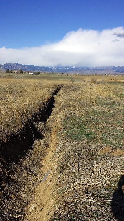 Water, Sanitary, Storm Infrastructure, 9500 LF of Roadway Expansion, Erie, CO