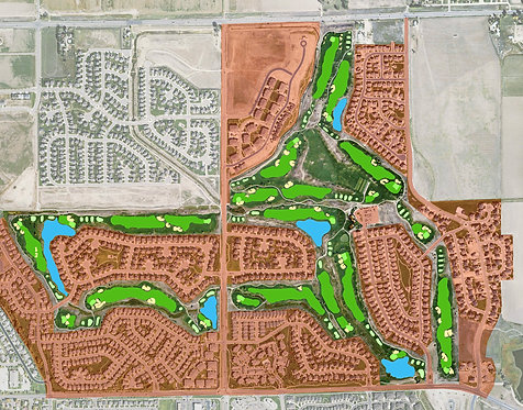 Spring Valley Golf Course, Clubhouse, Shop & Pedestrian Bridges, Longmont, CO