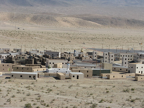LEED Silver Military Operations Urban Terrain Training Complex, Fort Irwin, CA