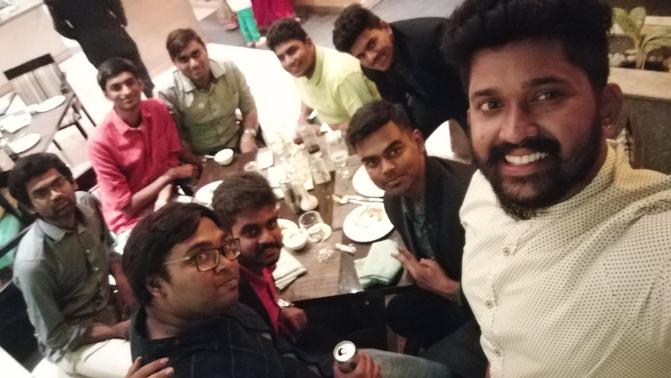 Felicitation dinner by Texas Instruments