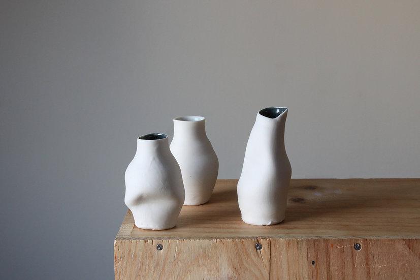 Miniature Porcelain Vase Collection - Set 02