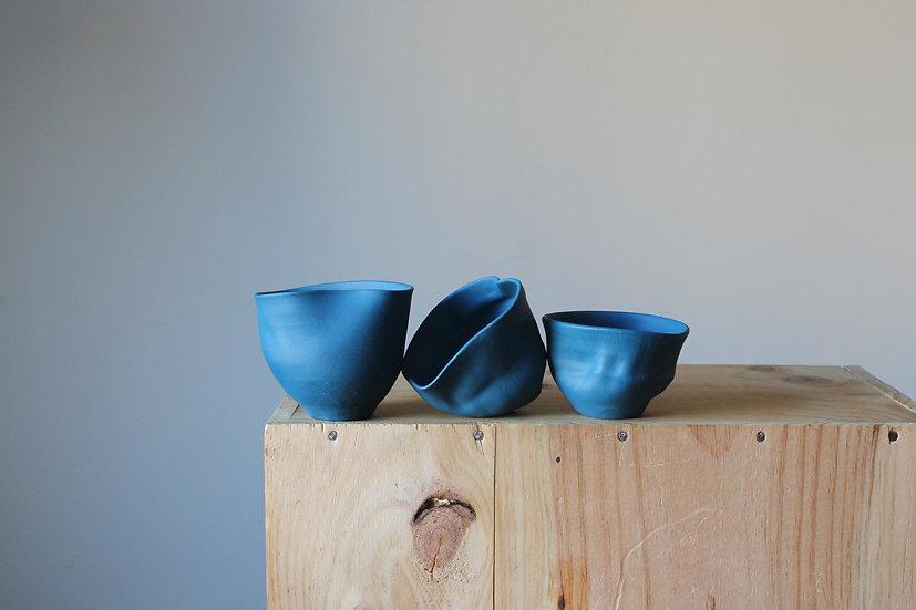 Titian Blue Vase Collection -Set 03