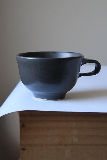 Charcoal Black Mug