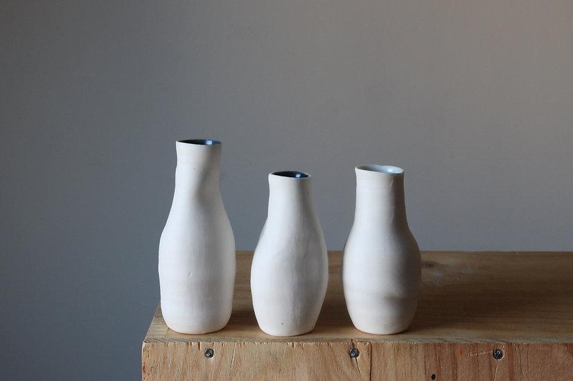 Miniature Porcelain Vase Collection - Set 01