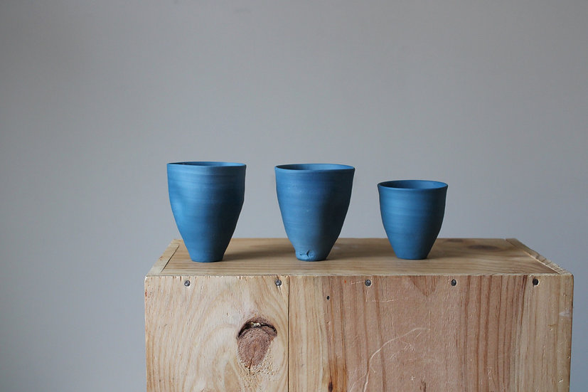 Titian Blue Vase Collection - Set 01