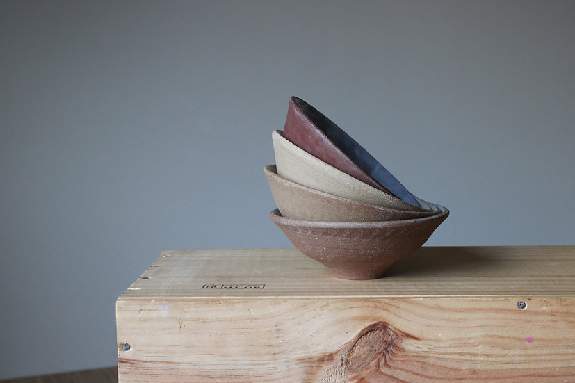 Wild clay, gradient, small bowl set