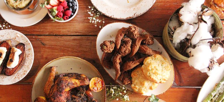 Chicken & Biscuits, Oven Roasted Chicken