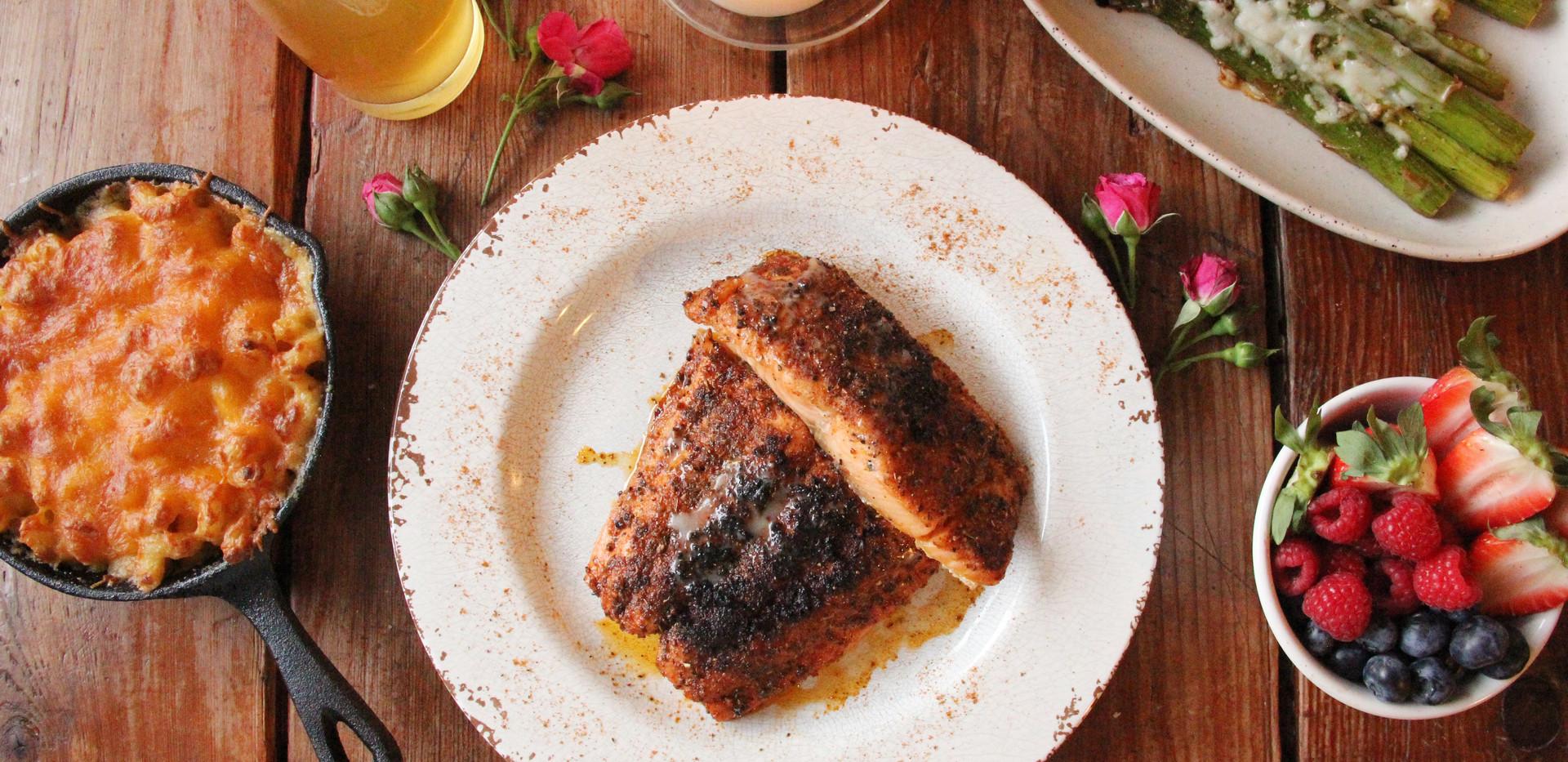 Blackend Salmon
