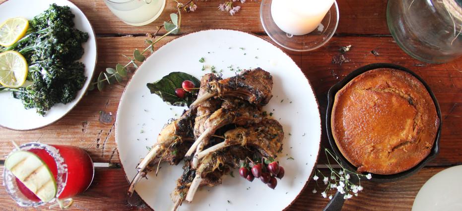 Charbroiled Lamb Chops
