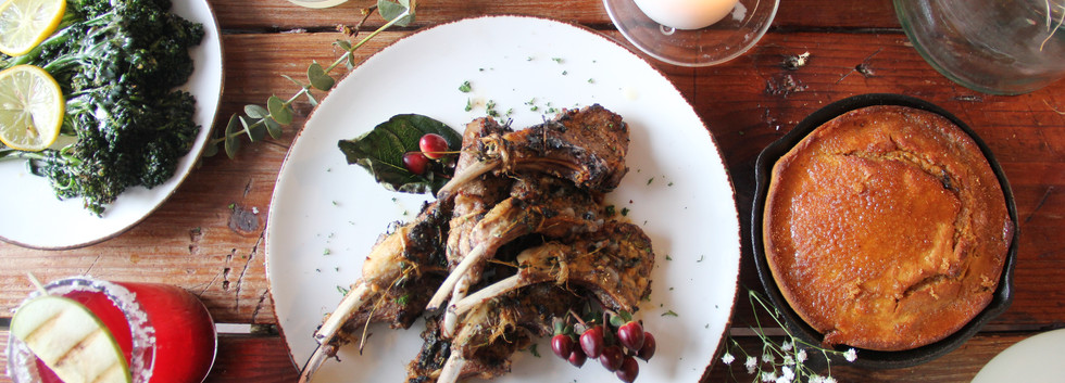 Charbroiled Lamb Chops