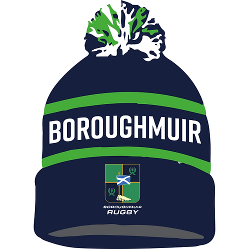 Boroughmuir Rugby Bobble Hat
