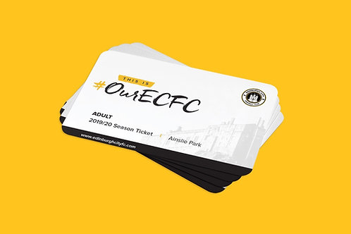 ECFC Season Ticket