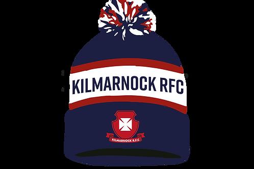 Kilmarnock Rugby Club Bobble Hat