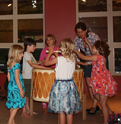 Kids and Drum