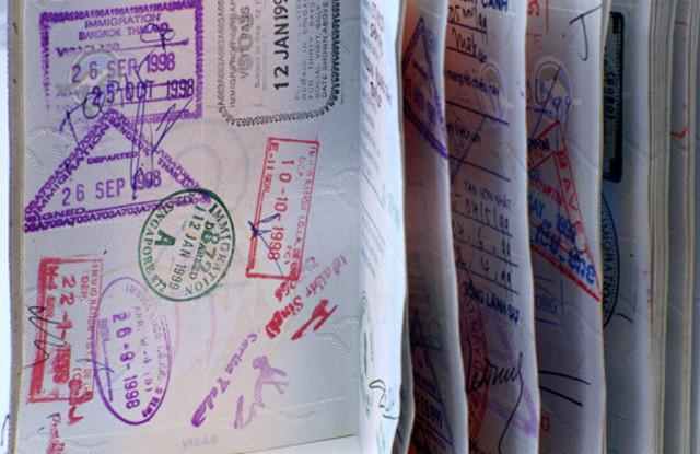 Dolu Pasaport Sayfaları