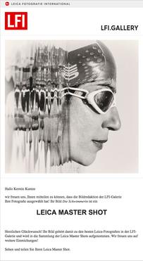 Leica Master Shot, Kerstin Kuntze