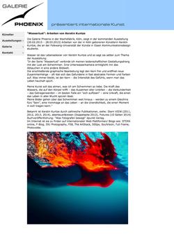 Galerie Phoenix zeigt Wasserlust°