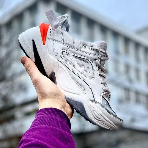Белые кроссовки Nike M2K Tekno White фото