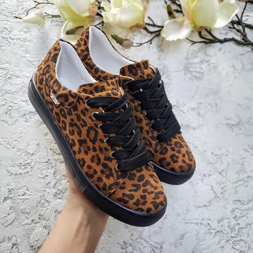 ce6220e31 Коричневые леопардовые натуральные кожаные кеды TM BONA Коричневые  леопардовые натуральные кожаные кеды TM BONA