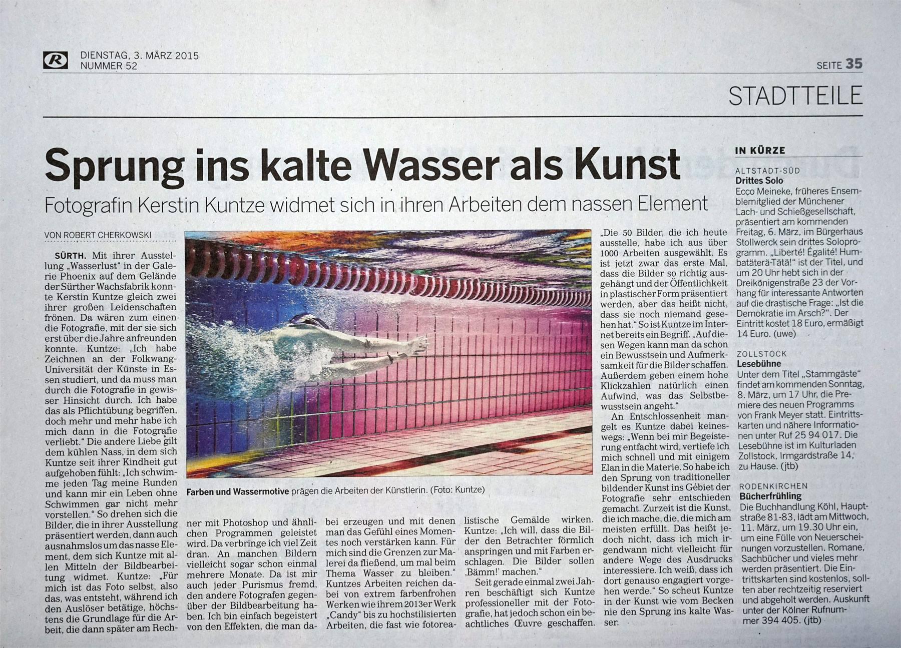 Rundschau - Wasserlust°