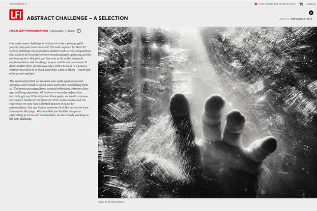 Leica Challenge, Kerstin Kuntze
