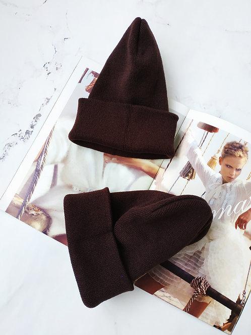 шоколадная шапка фото
