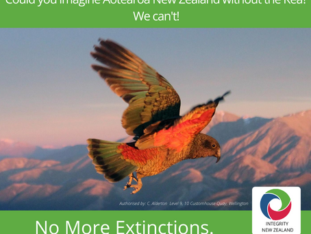 No More Extinctions - Our Policy for Conservation and the Environment