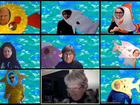 The Rainbow Fish Play