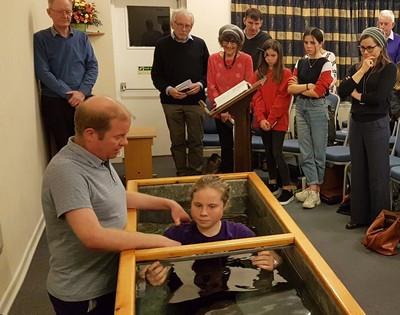Abi's baptism