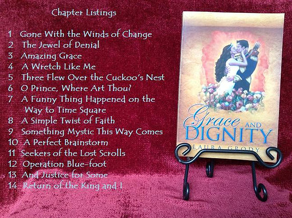 Grace and Dignity chapter titles