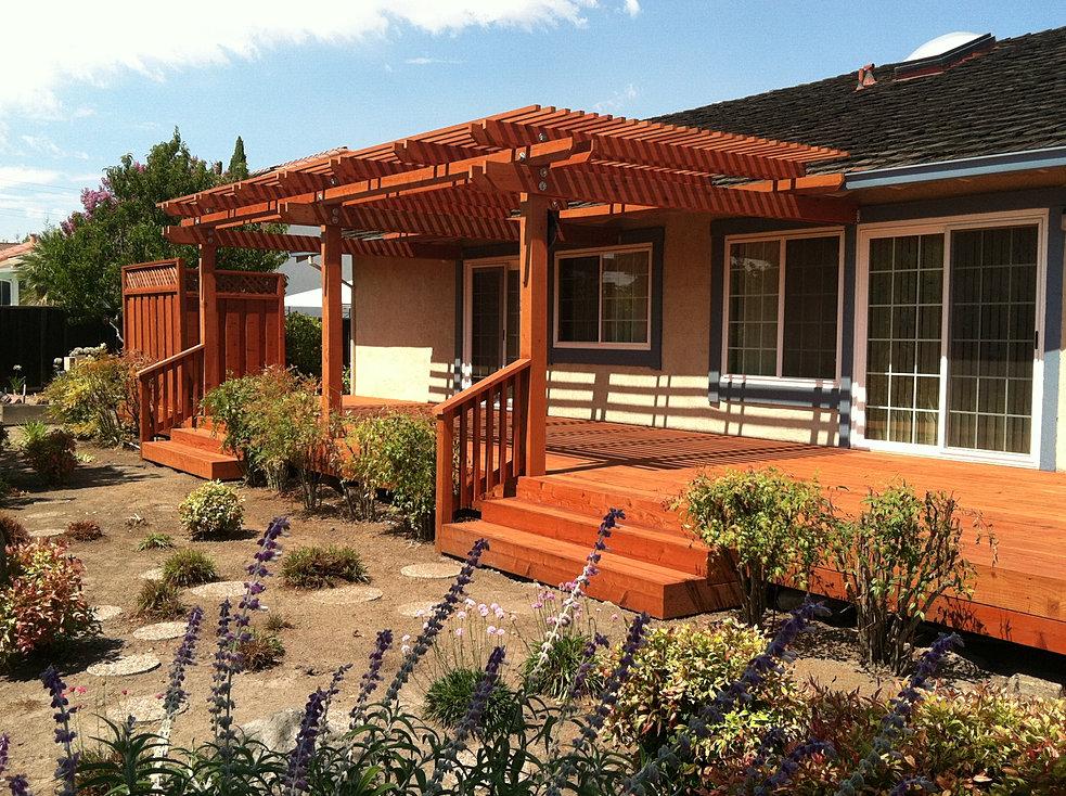 Amm Fencing Of San Ramon Constructs Redwood Fences Decks