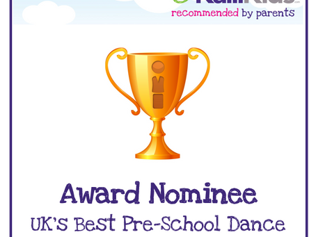 Wowzers!! Wiggletots have been nominated for yet another Award!