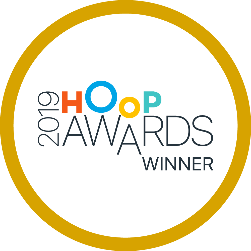 Hoop Award winner's logo