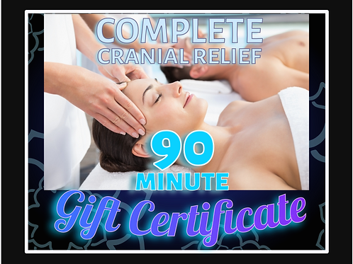90 Minute Couple's Gift Certificate