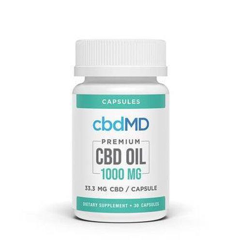 cbdMD - CBD Capsules - Broad Spectrum Capsules - 450mg-3000mg