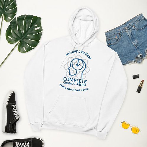 Heal from the Head Down Hoodie (Sky)