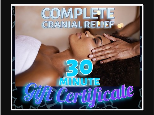 30 Minute Individual Gift Certificate