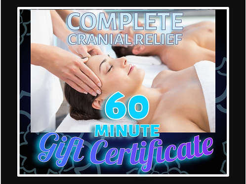 60 Minute Couple's Gift Certificate