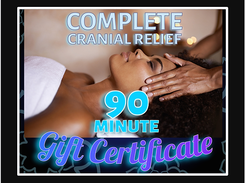 90 Minute Individual Gift Certificate