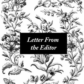 Letter From the Editor, September 2021