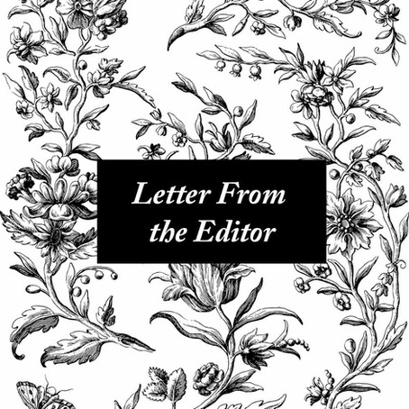 Letter From the Editor, Orientation 2018