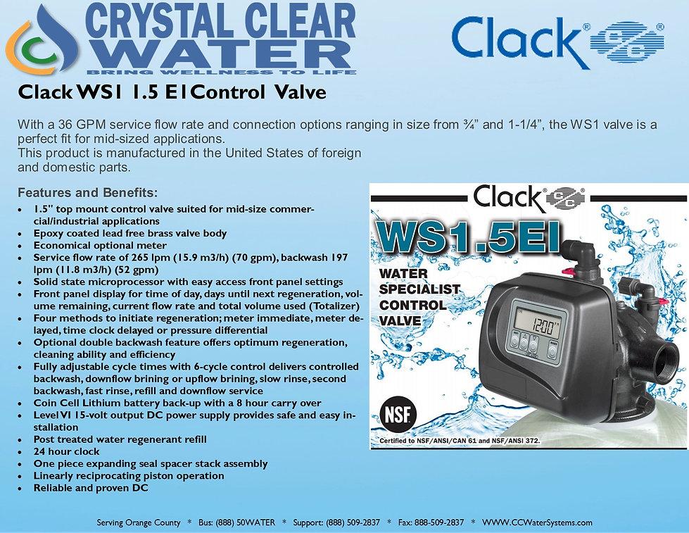 Clack WS1 1.5 E1Control  Valve .jpg