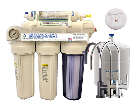 CC-686 3:1 5 Stage Reverse Osmosis Water Filtration Systems