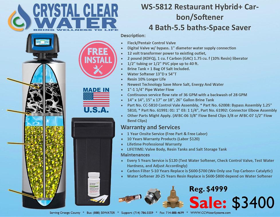 WS-5812 Restaurant Hybrid+ Carbon Soften