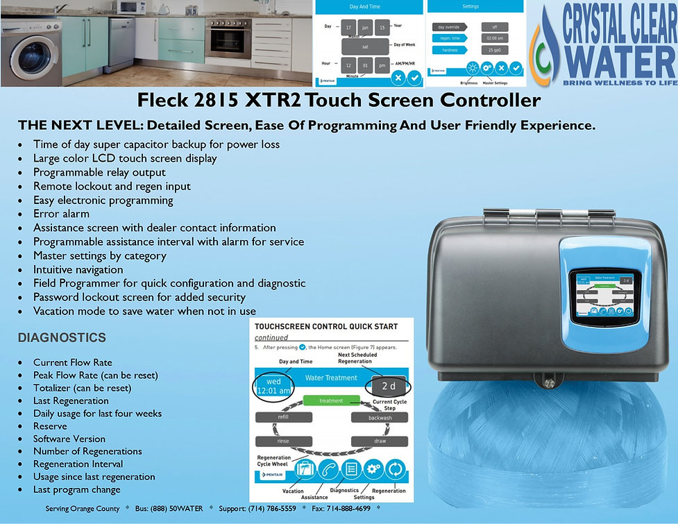 Fleck 2815 XTR2 Touch Screen Control Val