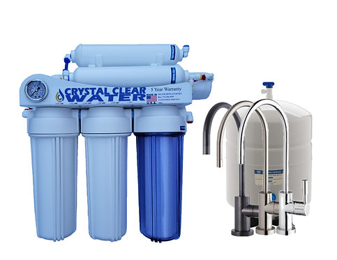 CC-686 1:1 5 Stage Reverse Osmosis Water Filtration Systems