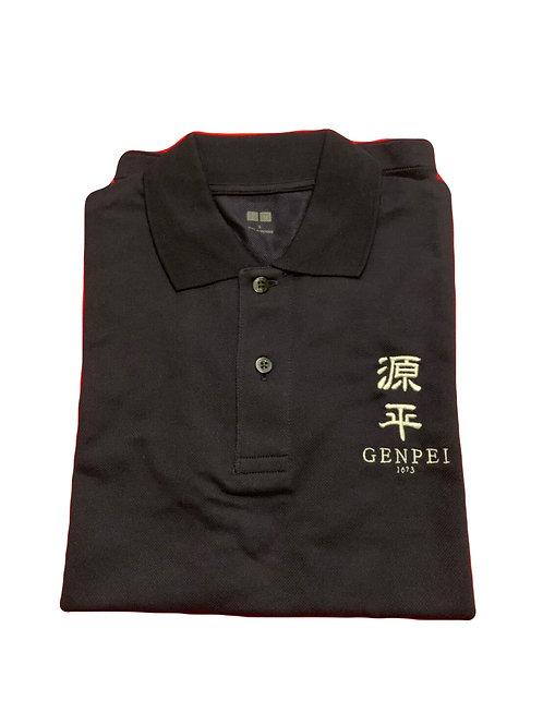 源平 ポロシャツ 紺