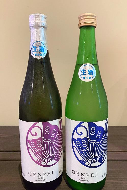 純米生原酒セット -蒼紫ー