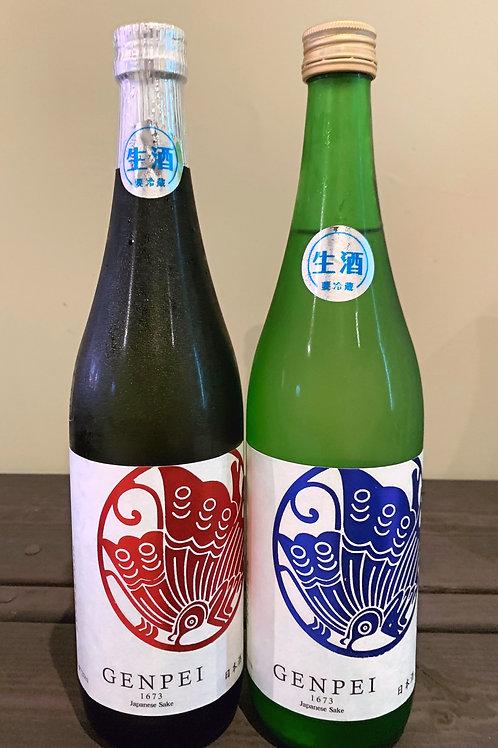 純米生原酒セット -蒼茜ー